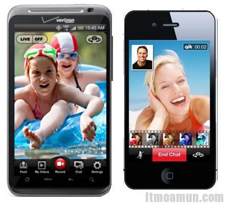วิดีโอแชท, iPhone 4, Android
