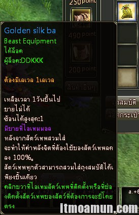 Golden Silk Bag 3