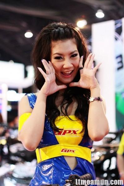 Gpx racing งาน Motor show 2011 4