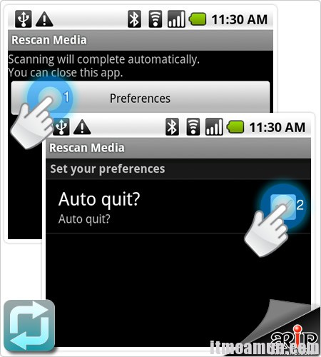 Media Scanner Android