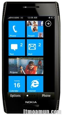 WindowPhone7, Nokia