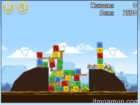 Angry Birds เวอร์ชั่น Chrome