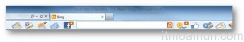 Bing Bar Social Networking