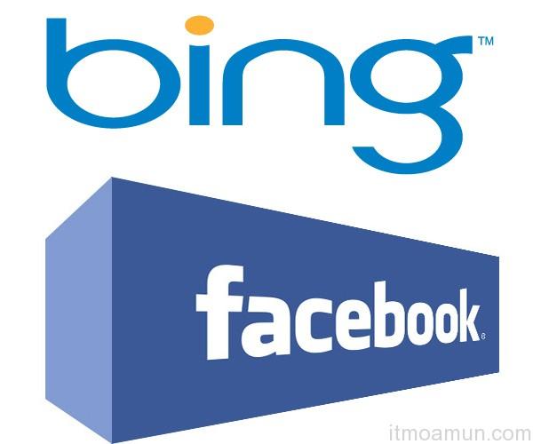 Bing,Social Seach Engine, facebook