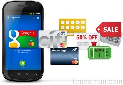 Google Wallet, กระเป๋าสตางค์บนมือถือ, Citibank, NFC