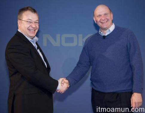 Microsoft กำลังจ้องซื้อ Nokia