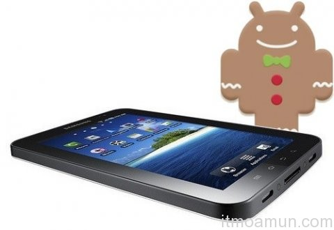 Samsung Galaxy Tab 2.3.3 Gingerbread