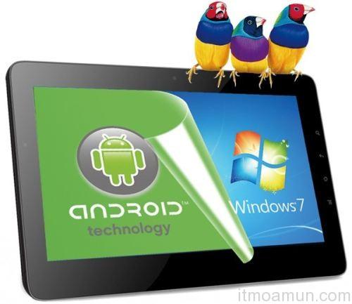 ViewPad 10Pro, แท็บเล็ตดูอัลบู๊ต