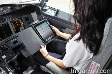iPad, สายการบิน Alaska Airline