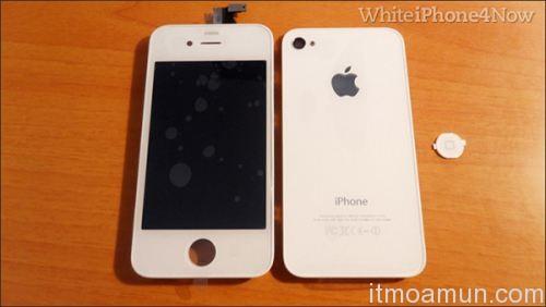iPhone 4 สีขาว, Apple