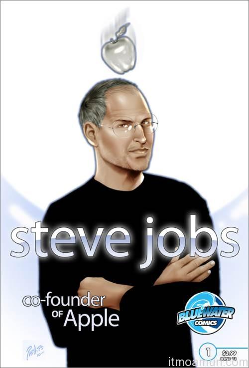 หนังสือการ์ตูน Steve Jobs, ประวัติของ Steve Jobs