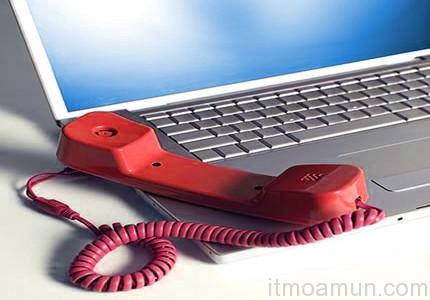 โทรศัพท์ผ่านอินเตอร์เน็ต, โทรศัพท์ผ่าน Internet