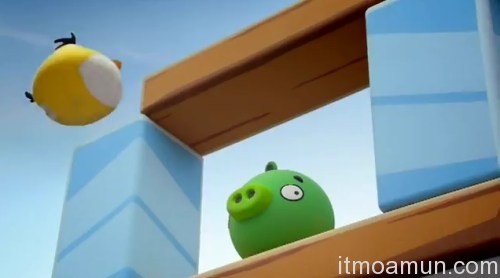 Angry Birds, T-Mobile, โฆษณา T-Mobile, เกมส์ Angry Birds