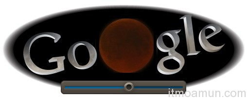 Google Doodle,จันทรุปราคา