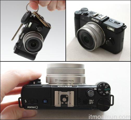 Pentax Q, กล้องคอมแพ็ค, คอมแพ็คเปลี่ยนเลนส์ได้