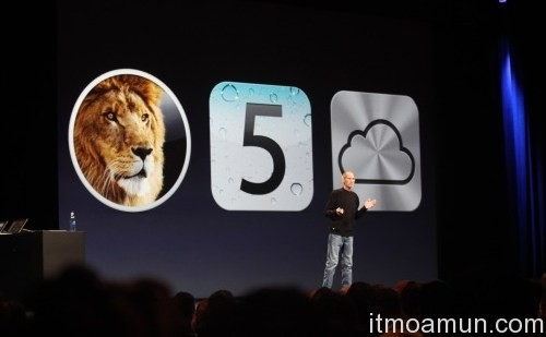steve job เปิดตัว iCloud