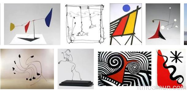 งานของ Alexander Calder อเล็กซานเดอร์ คาลเดอร์