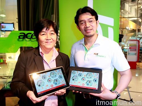 Acer จับมือ TK Park, พัฒนาคอนเทนต์ลง Tablet