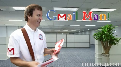Microsoft,โฆษณาล้อเลียน ,Gmail ,Office 365,Gmail Man