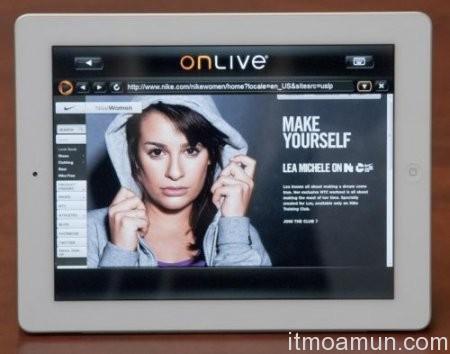 OnLive web browser, Flash web browser