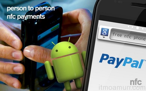 Paypal, ระบบจ่ายเงิน Paypal NFC, Paypal NFC