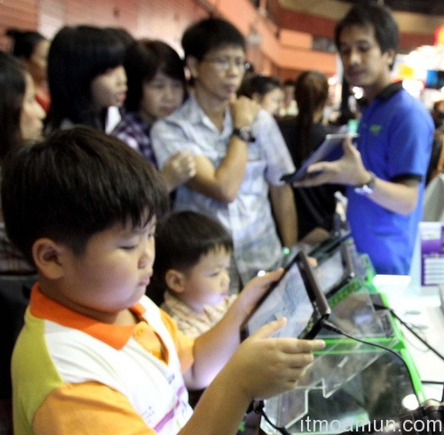 Tablet และ Smart Phone, Tablet vs Smart Phone, Notebook , Commart