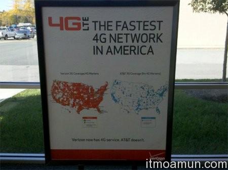 Verizon, เครือข่าย 4G, 4G, Verizon 4G