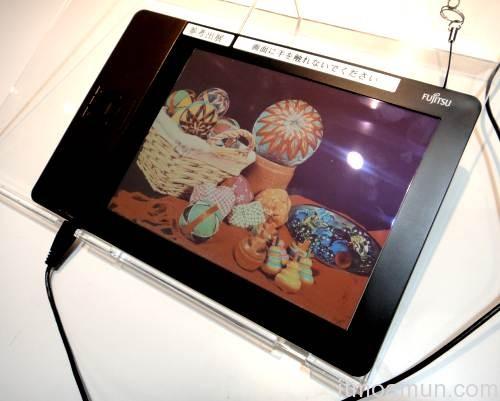e-Paper จอสี, Fujitsu e-Paper