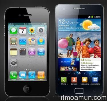 iPhone 5, Galaxy S2, iPhone 5 กับ Galaxy S2