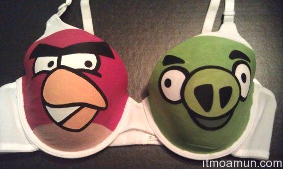 ยกทรง Angry Birds, Angry Birds, ยกทรงนกโกรธ, Angry Birds brazier