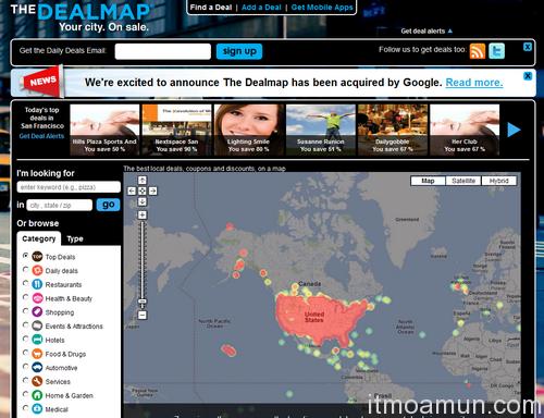 Google Dealmap