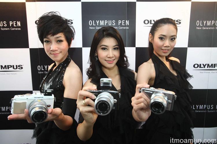 Olympus PEN, กล้องไร้กระจก