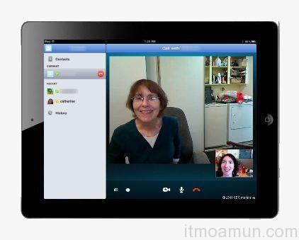 Skype App, Skype iPad App, iPad Apps