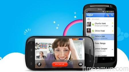 Video Call, Skype Video Call, Android