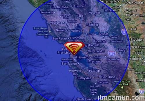 Wi-Fi 802.22, IEEE 802.22, Wifi 100 กิโลเมตร