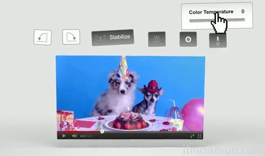 ตัดต่อวีดีโอบน YouTube, ตัดต่อวีดีโอ YouTube, Google