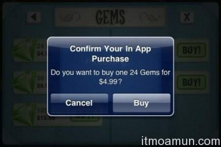 Apple, ระบบซื้อของ, Apps