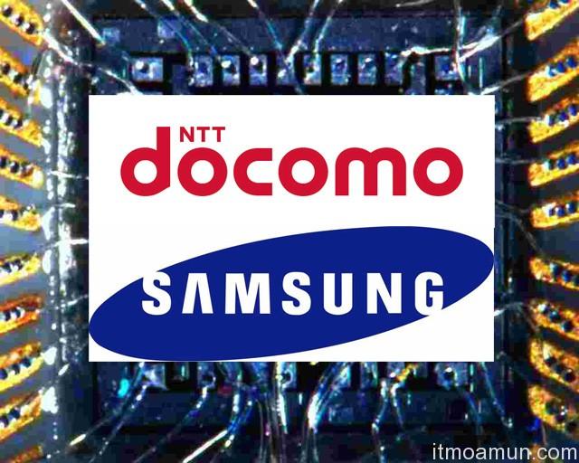 DoCoMo, Samsung, ชิพ Samsung, ชิพ DoCoMo