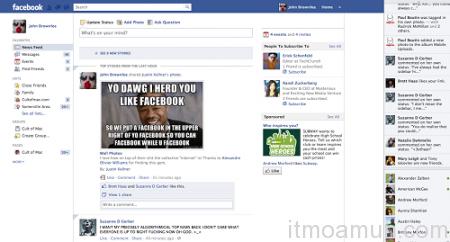 Facebook, Facebook ใหม่