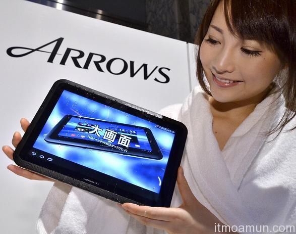 Fujitsu, Fujitsu Arrows, Arrows, Tablet กันน้ำ