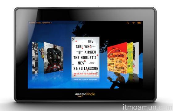 Kindle Tablet, Amazon