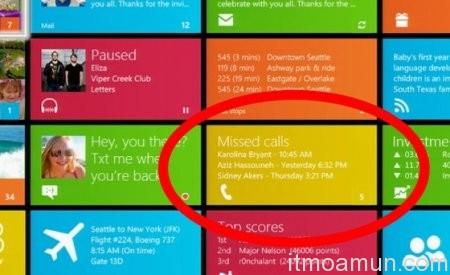 Tablet Windows 8, โทรและส่งข้อความ