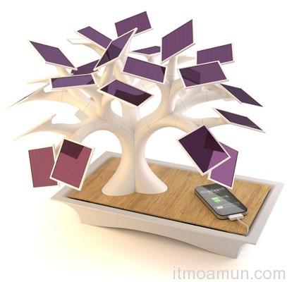 The Electree, ต้นบอนไซที่ชาร์จไฟ, Gadget