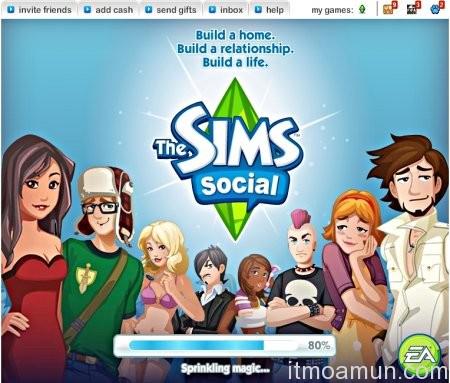 The Sims Social,Facebook, เกม the sims, เกมส์ facebook