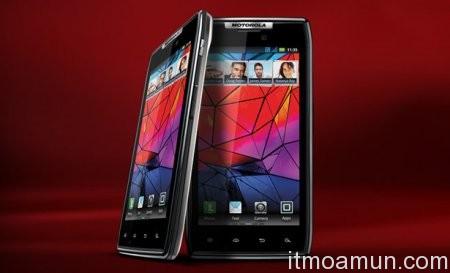 Motorola, Droid RAZR, Android 4.0