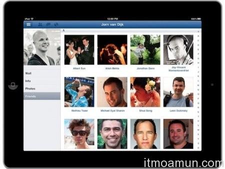facebook app, facebook app ipad, ipad apps