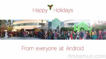 Happy Holidays, วิดีโอ Happy Holidays, Google, คำอวยพรจาก Google