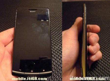 Sony Nyphon, แอนดรอยด์จอ qHD, ซีพียู Dual-Core, Xperia Arc HD