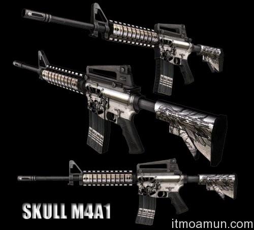 เกมส์ Special Force, Special Force, สุดยอดปืน, Skull Series M4A1, Special Force Skull Series M4A1