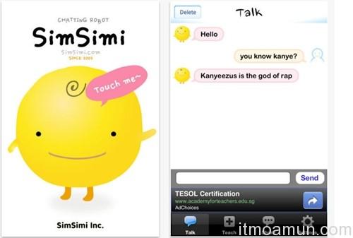 Simsimi,แบนคำหยาบภาษาไทย